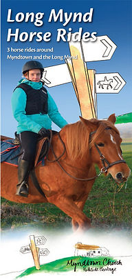 Suggested Horse rides - Myndtown Church - Shropshire