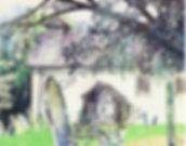 Cor Valkering Limited Edition Myndtown Church Art Print