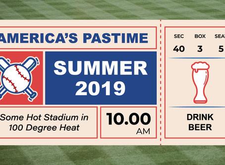 America's Favorite Pastime: Beer - I Mean Baseball