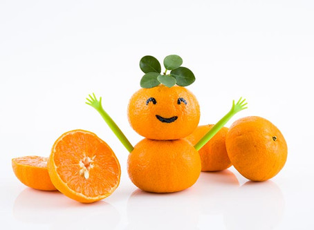 Bored? Try a Slice of Orange