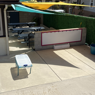 Lunch Area & Outdoor Painting