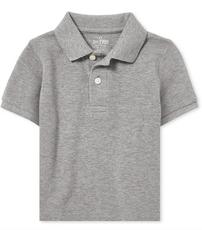 Pique Polo Grey
