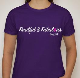 Fruitful & Fabulous Logo Shirts