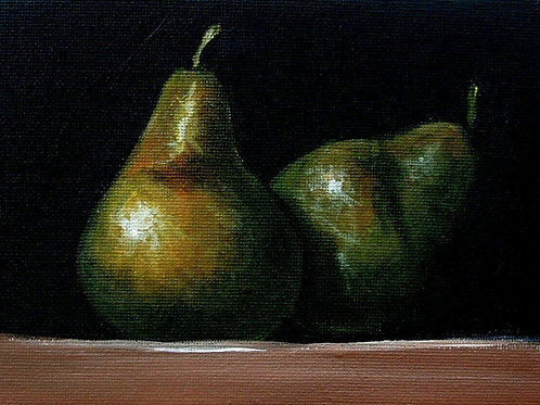 'Pears' by Terry Wylde