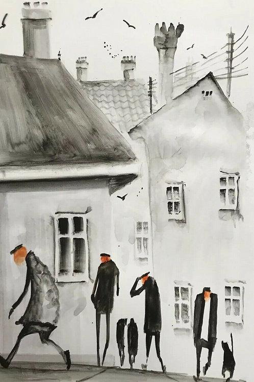 Urban Dwellers #628 by James Ndokera