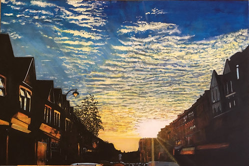 Sun Down on Myddleton Rd