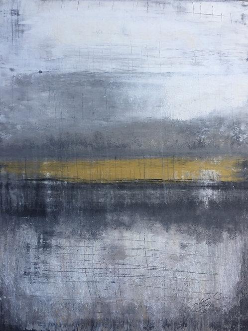 1124 abstract gold horizon