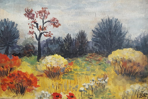 Oil Painting by Polish Artist Aleksander Bubak