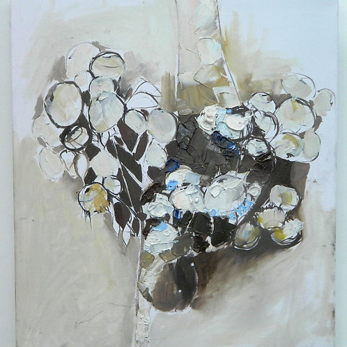 Abstract Still Life with Flowers