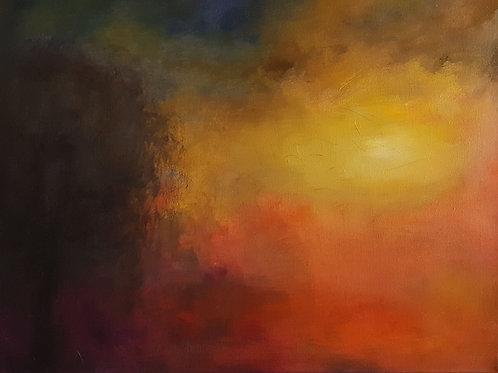 Sunrise Oil Painting