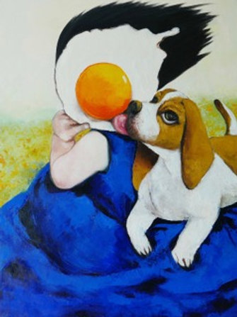 Egg Girl Puppy Love