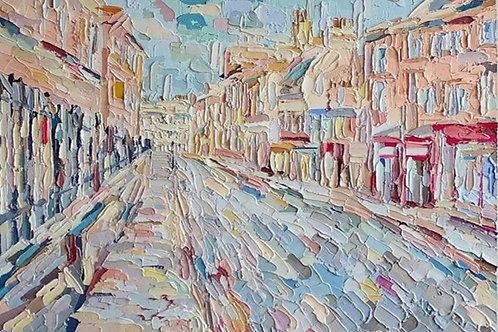 George Street, Bath by Tom Davey