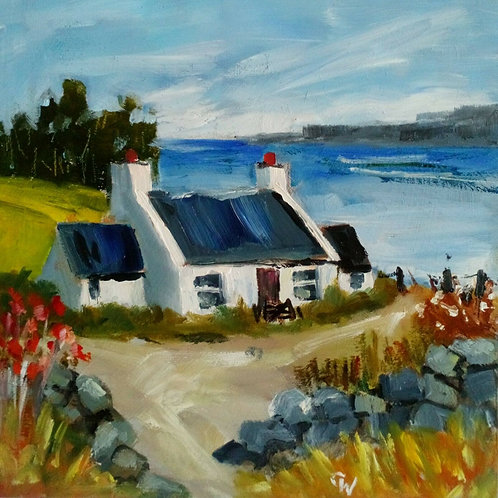 Cottage Near The Sea by Carol West