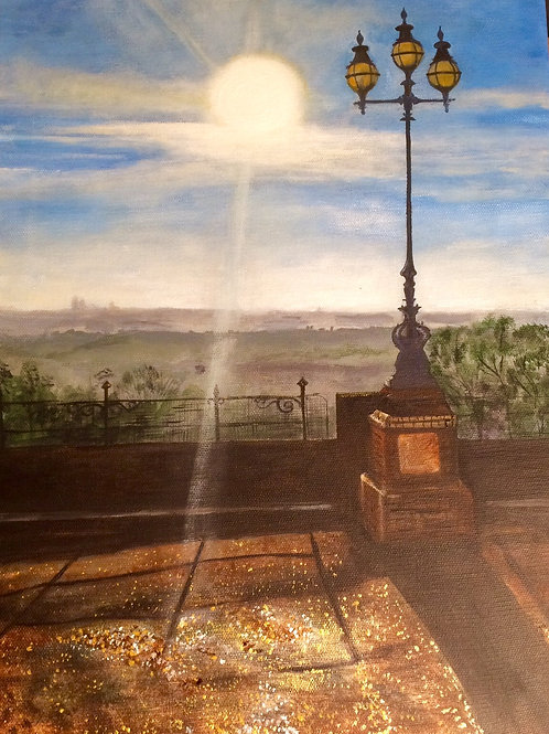 Bright Morning by Louise Breckon-Richards