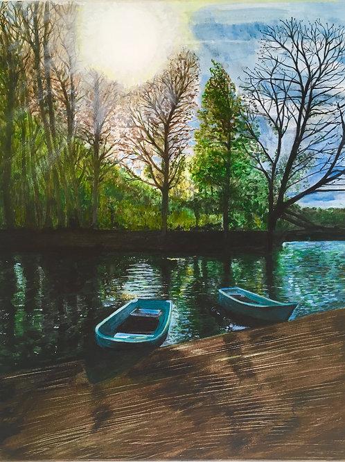 Boats Ally Pally