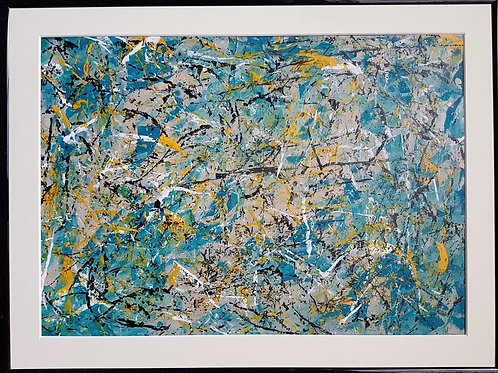 Original Modern Abstract Acrylic/Oil Painting