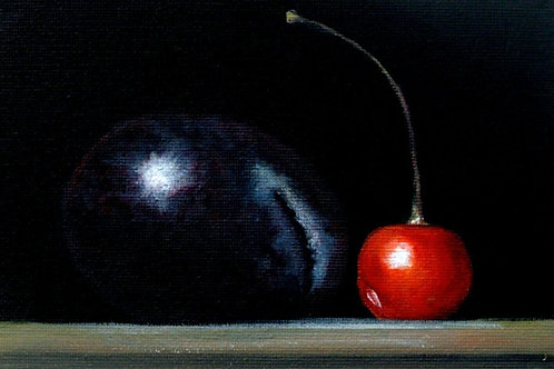 'Plum & Cherry' by Terry Wylde