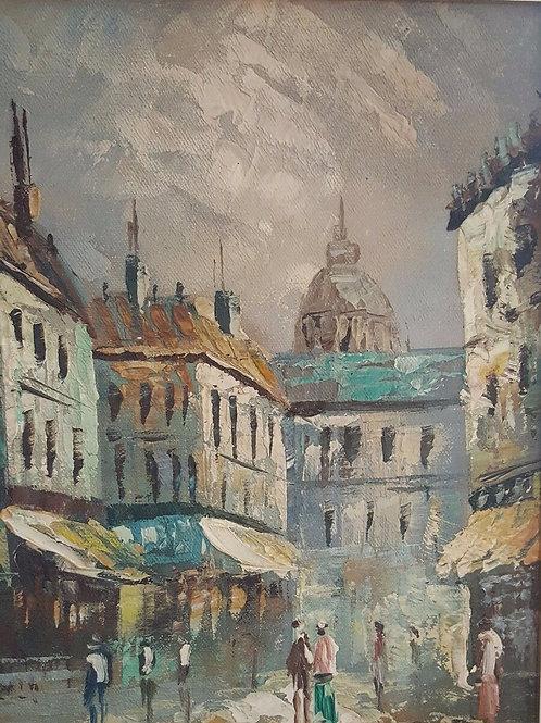 Impressionist painting - Paris