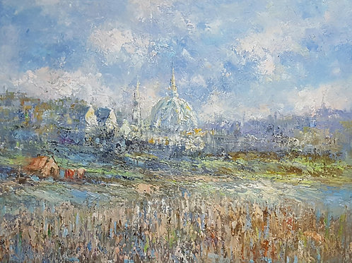 Impressionist Oil Painting - Florence
