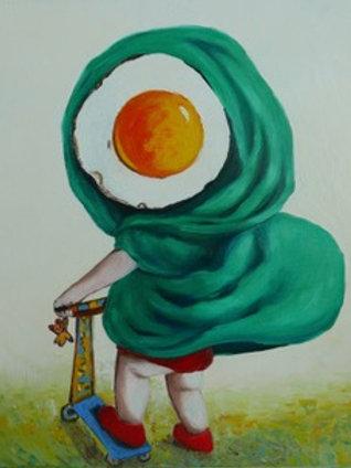 Little Egg Riding Hood