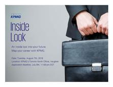 KPMG Inside Look Program - APPLY NOW