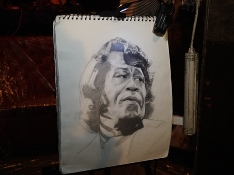Collage Live Art Tribute to James Brown & Willie Colon