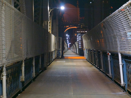 Tunnel Vision - Manhattan Bridge, NYC