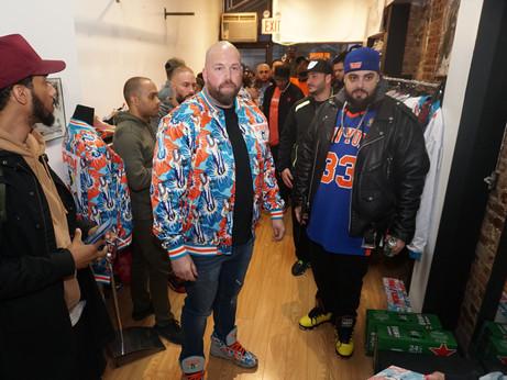Ewing Athletics Mache X Ace Ventura Sneaker Launch