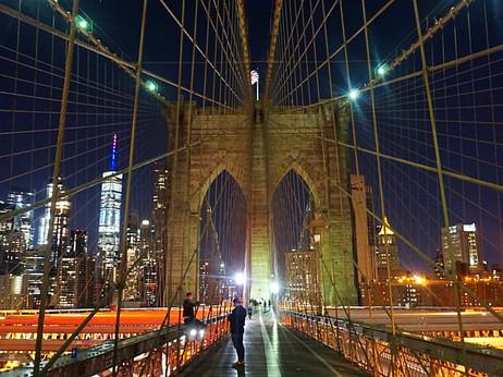 Brooklyn Bridge Skyline, NYC