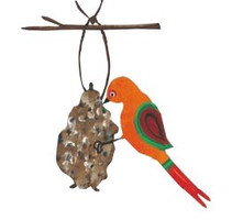 Make a Pine Cone Birdfeeder
