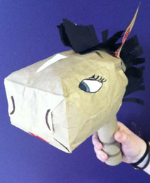 Make Your Own Paper Bag Horse