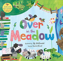 Over in the Meadow (PB w audio & video CD)