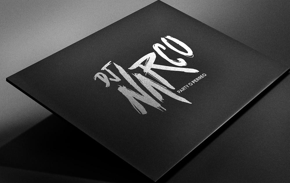 DJ Narco Logo Mockup
