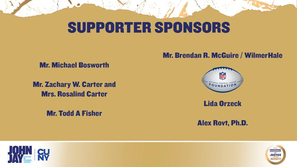 Supporter Sponsors