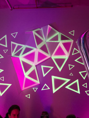 Triangle Facets Projection Mapping