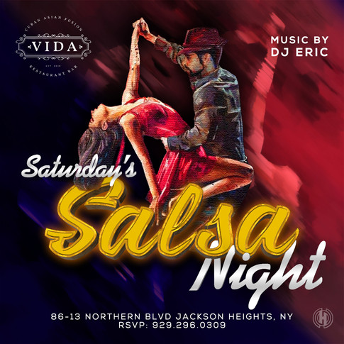 Vida Restaurant | Saturday's Salsa Night
