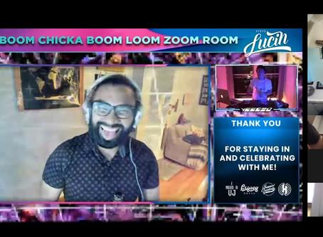 Lucin's Bday Boom Chicka Boom Loom Zoom Room