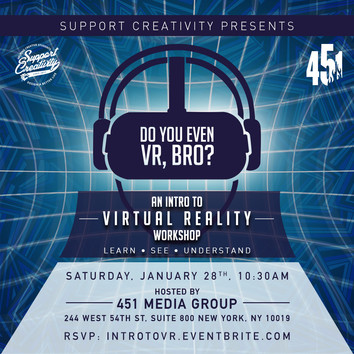Intro To Virtual Reality Workshop