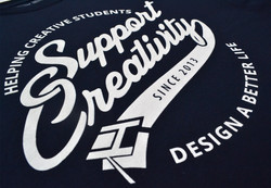 Close Up of Support Creativity Front