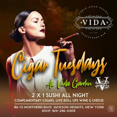 Vida Restaurant | Cigar Tuesdays