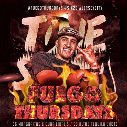 Tone Setta | A fuego Thursdays