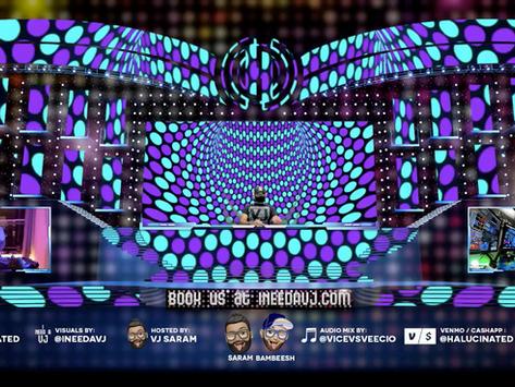 VJ Mix Live Stream | iNeedaVJ 02