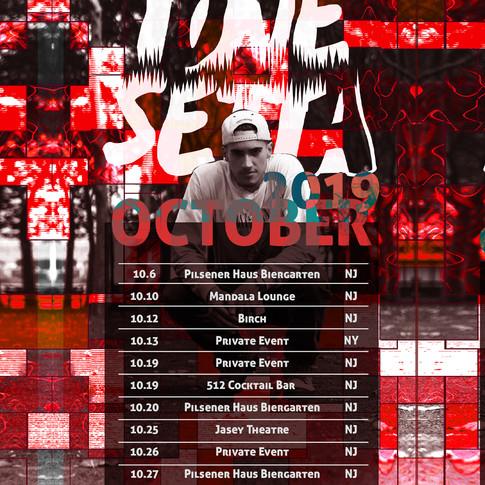 Gigs DJ Calendar | Tone Setta