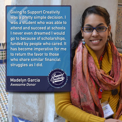 Madelyn Garcia - Awesome Donor