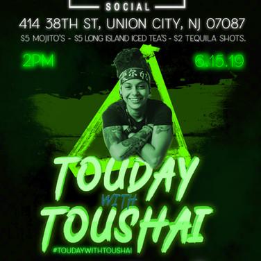 Touday with Toushai | Union City Social