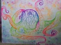 rain bow octopus