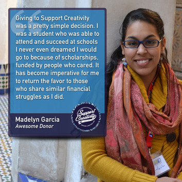 Donor Highlight - Madelyn