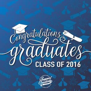 2016 Support Creativity Graduates!