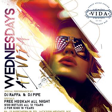 Vida Restaurant | Wednesdays at Vida