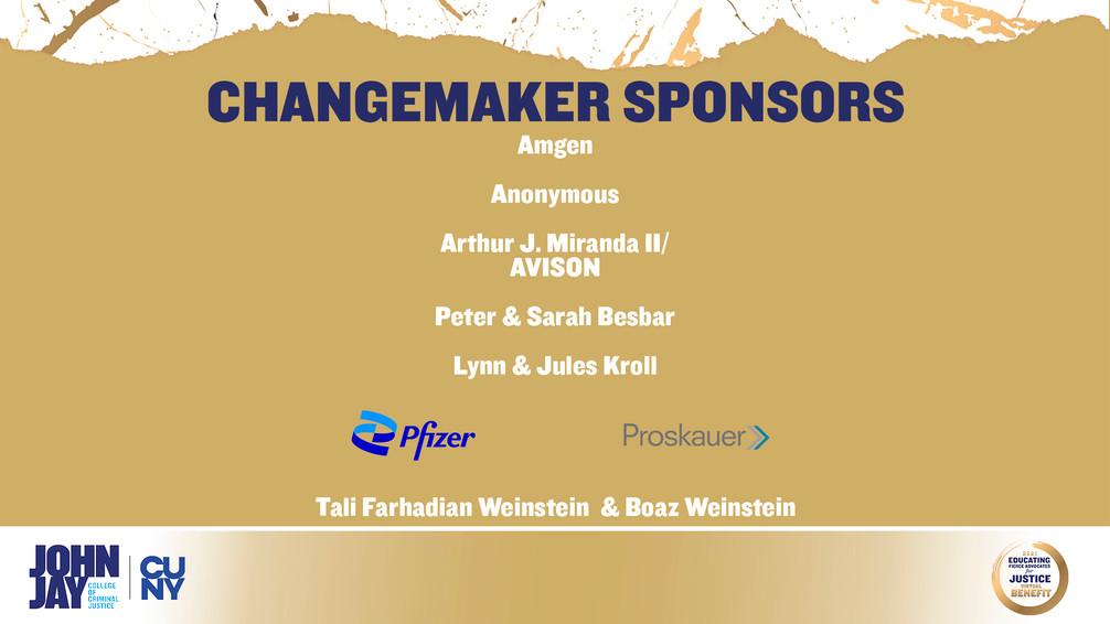 Changemaker Sponsors